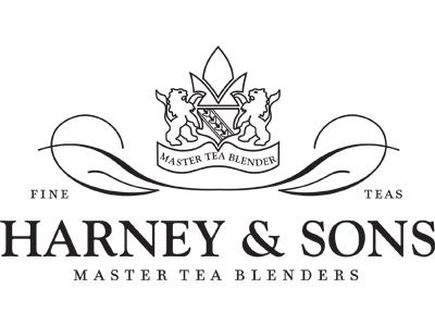 Harney & Sons logo tegeltje