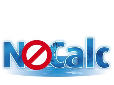 NoCalc logo tegeltje