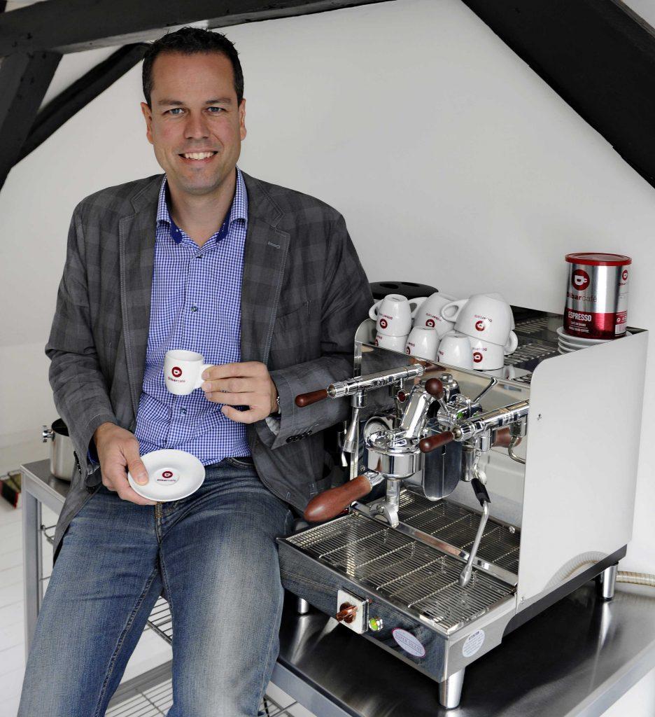 Wessel Bakker BoonenBakker Dibarcafe koffie