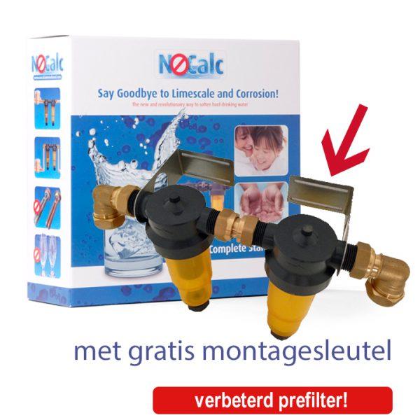 Nocalc starterset met gratis montagesleutel