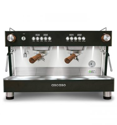 Barista T ONE black & wood vierkant