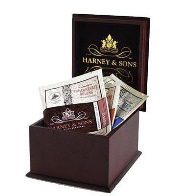Presentatiekist Harney & Sons Wrapped Sachets