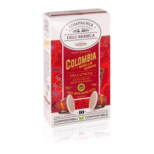 compagnia dell arabica 10 cups colombia medellin