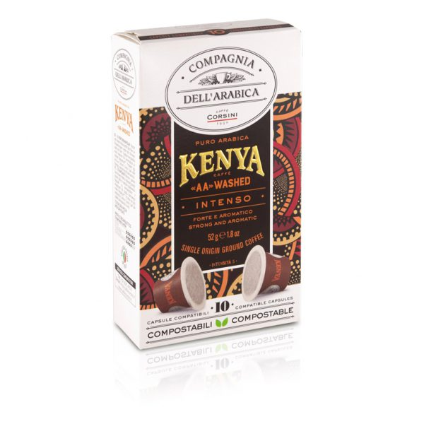 compagnia dell arabica 10 cups kenya aa washed sing